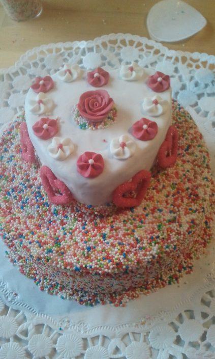 Geburtstagstorte für Dani